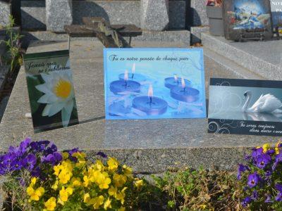 Plaques funéraires en ligne cimetière
